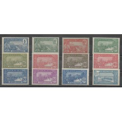Guadeloupe - 1922 - No 77/88