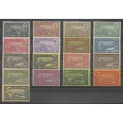 Guadeloupe - 1905 - Nb 55/71