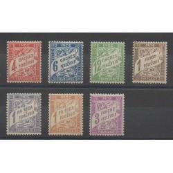 Inde - 1929 - No T12/T18 - Neuf avec charnière