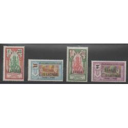 India - 1928 - Nb 81/84