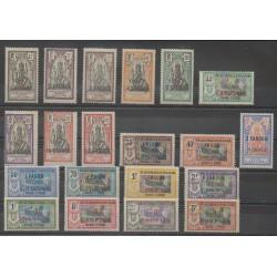 Inde - 1923 - No 59/78 - Neuf avec charnière