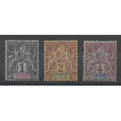India - 1892 - Nb 1/3
