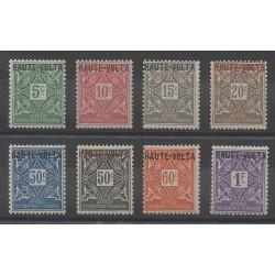 Upper Volta - 1920 - Nb T1/T8
