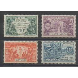 Haute-Volta - 1931 - No 66/69 - Neuf avec charnière