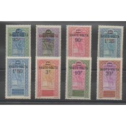 Haute-Volta - 1924 - No 33/40