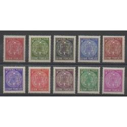 Guyane - 1947 - No T22/T31