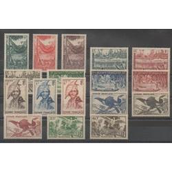 Guiana - 1947 - Nb 201/217