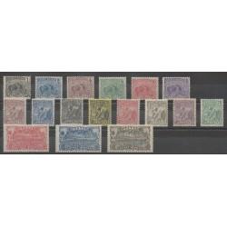 Guiana - 1904 - Nb 49/65