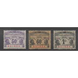 Guinée - 1906 - No T13/T15 - Neuf avec charnière