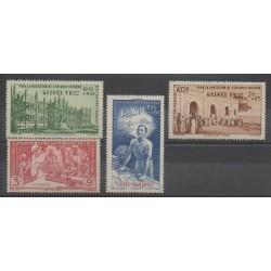Guinea - 1942 - Nb PA6/PA9