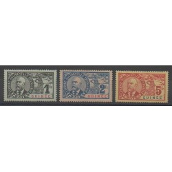 Guinea - 1906 - Nb 45/47 - Mint hinged