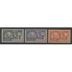 Guinée - 1906 - No 45/47 - Neuf avec charnière