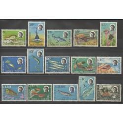 Océan Indien - 1968 - No 16/30 - Poissons
