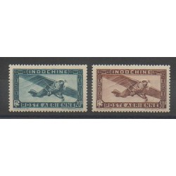 Indochina - 1949 - Nb PA46/PA47