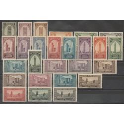 Maroc - 1923 - No 98/123 - Neuf avec charnière