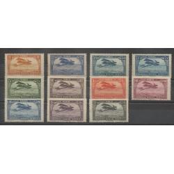 Morocco - 1922 - Nb PA1/PA11 - Mint hinged