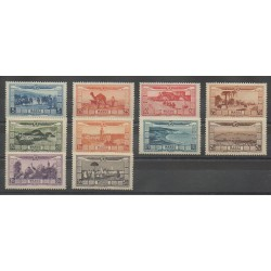 Morocco - 1928 - Nb PA12/PA21 - Mint hinged