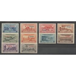 Maroc - 1928 - No PA22/PA31 - Neuf avec charnière