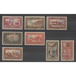 Maroc - 1938 - No 153/160