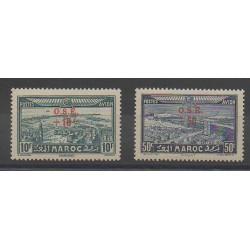 Morocco - 1938 - Nb PA41/PA42