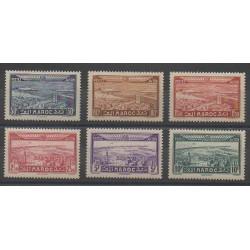 Maroc - 1933 - No PA34/PA39 - Neuf avec charnière