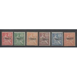 Morocco - 1918 - Nb 85/90