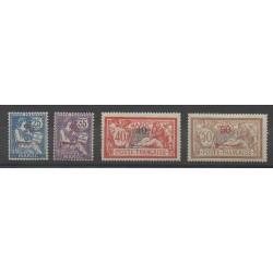 Morocco - 1911 - Nb 32/35