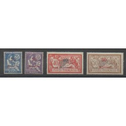 Maroc - 1911 - No 32/35