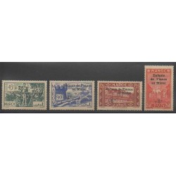 Morocco - 1942 - Nb 200/203 - Mint hinged