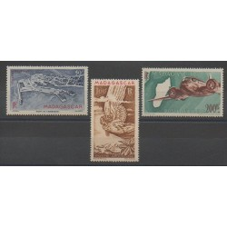 Madagascar - 1946 - Nb PA63/PA64A