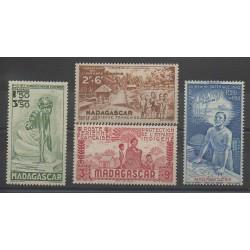 Madagascar - 1942 - No PA41/PA44