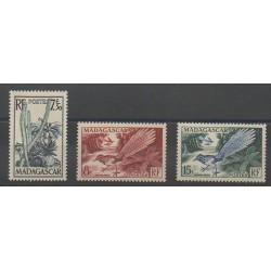 Madagascar - 1954 - Nb 322/324