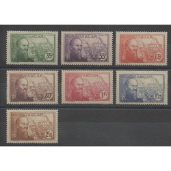 Madagascar - 1938 - Nb 199/205 - Mint hinged