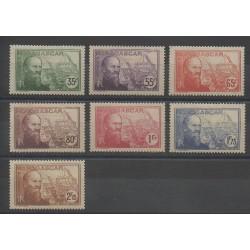 Madagascar - 1938 - No 199/205 - Neuf avec charnière