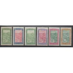 Madagascar - 1927 - Nb 156/161