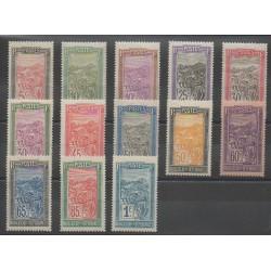 Madagascar - 1922 - Nb 131/143