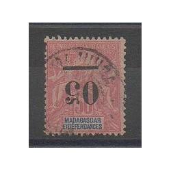 Madagascar - 1902 - No 48a - Oblitéré