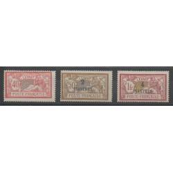Levant - 1902 - Nb 19/21