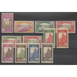 Niger - 1939 - No 74/85 - Neuf avec charnière