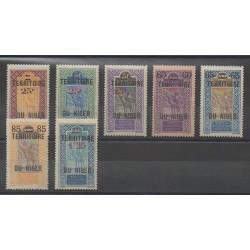 Niger - 1922 - Nb 18/24