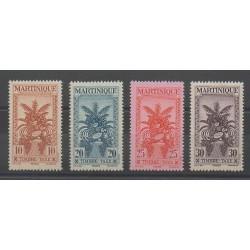 Martinique - 1943 - No T23/T26