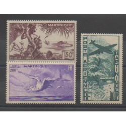 Martinique - 1947 - Nb PA13/PA15