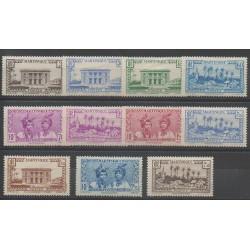 Martinique - 1939 - No 175/185 - Neuf avec charnière