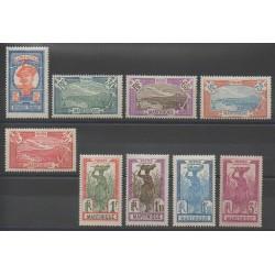 Martinique - 1927 - No 120/128 - Neuf avec charnière