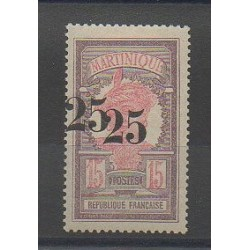 Martinique - 1920 - Nb 85b - Mint hinged