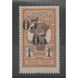 Martinique - 1920 - Nb 83b - Mint hinged