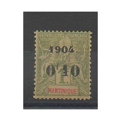 Martinique - 1904 - No 58 - Neuf avec charnière