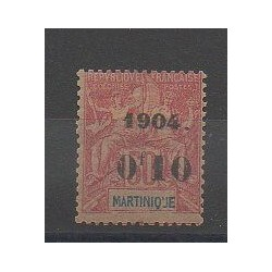 Martinique - 1904 - No 56 - Neuf avec charnière