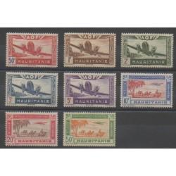 Mauritania - 1942 - Nb PA10/PA17