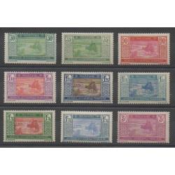 Mauritanie - 1928 - No 57/61 - Neuf avec charnière